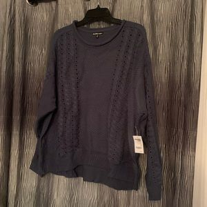 Gray knit Charlotte Russe Sweater
